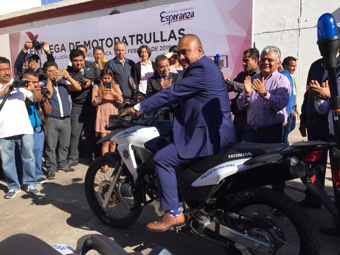 Se fortalece Santa Lucía del Camino en materia de seguridad