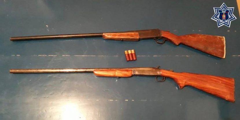Detiene SSPO a tres personas en la Cuenca  por portación de armas de fuego sin licencia