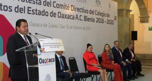 Gobierno de Oaxaca y CAEO, aliados para transformar a Oaxaca: Sinfra
