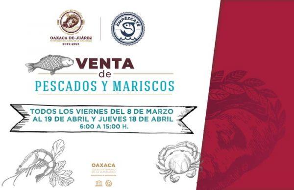 Municipio de Oaxaca promoverá venta de  pescados y mariscos a precios accesibles