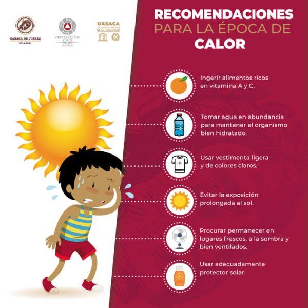 Exhorta Protección Civil Municipal a seguir recomendaciones para evitar golpes de calor