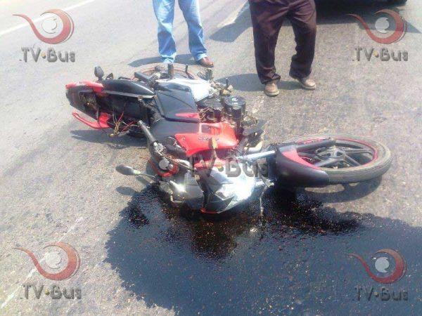Tuxtepec en primer lugar al registrar al menos 3 accidentes en motocicleta al día: Policía Vial