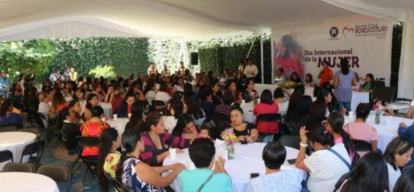 Conmemoran Día Internacional de la Mujer en Xoxocotlán