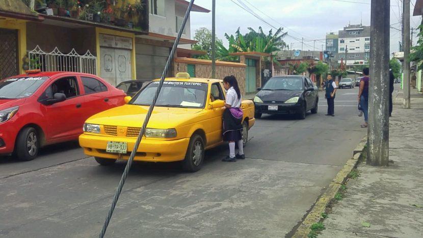 """Alumnos de la """"Jorge L. Tamayo"""" salen de la escuela para promover los cuidados del medio ambiente"""