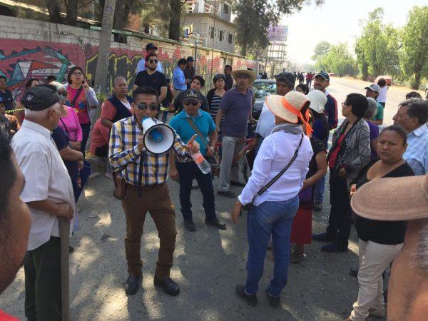 Vecinos de la Colonia Libertad, revientan contra SAPAO y SINFRA en exigencia de reparación de su drenaje