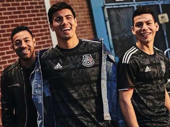Selección Mexicana estrena piel