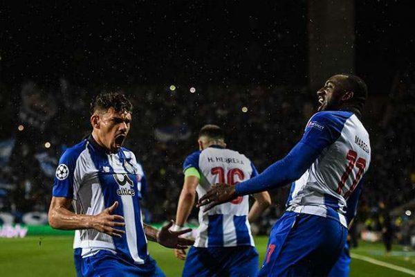 Porto de HH y Corona remonta para avanzar a cuartos de Champions