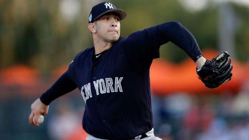 Lanzador mexicano saltará con los Yankees en el Opening Day