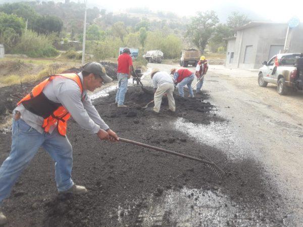 Ejecuta CAO trabajos de reconstrucción del Vidrio a Puerto Escondido