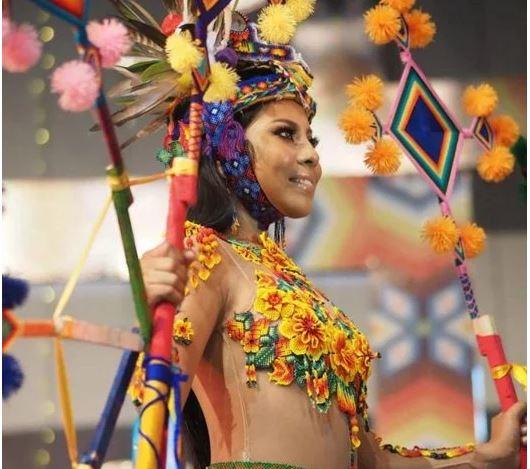 Yukaima es coronada como la primera reina de belleza indígena en México