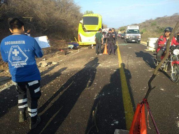 Trabajan Puebla y Oaxaca en atención de accidentados: CEPCO