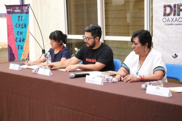 """DIF Estatal Oaxaca y PRODENNAO lanzan convocatoria """"TE CREO EN CORTO"""" contra el maltrato infantil"""