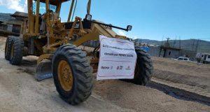 Inician trabajos de conservación en la carretera Tlaxiaco- Chalcatongo