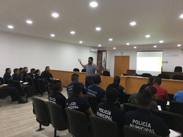 Concluyen policías municipales taller con Agencia Alemana