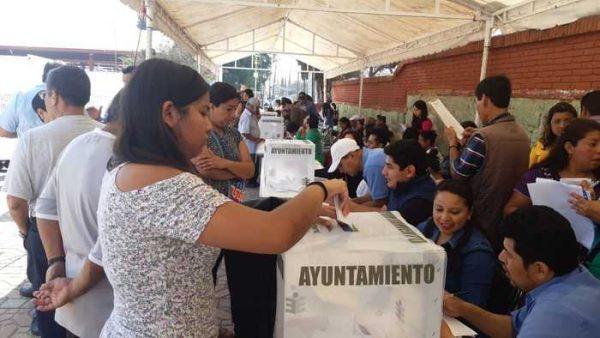 Elecciones en las 13 agencias de Oaxaca, el cierre será a las 17 horas si ya no hay votantes