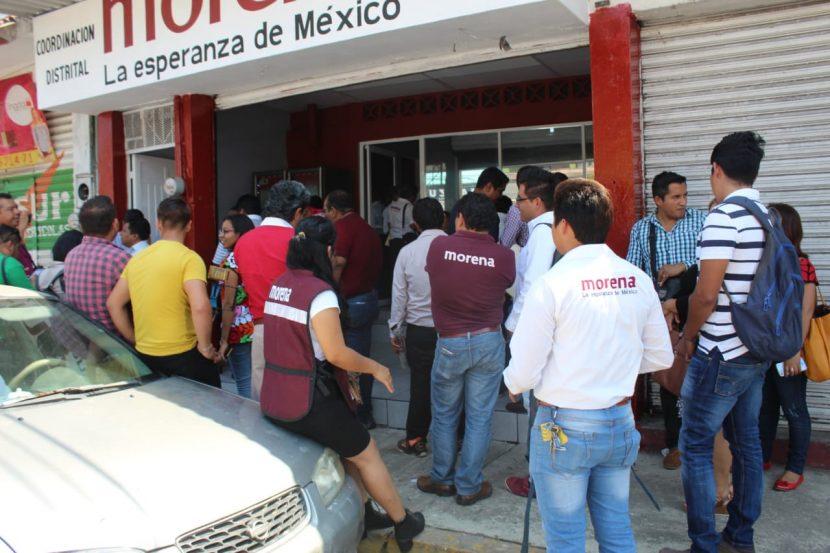 Inauguran coordinación distrital de MORENA en Tuxtepec