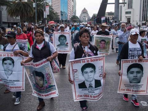Acuerdan SRE y CIDH mecanismo para el caso Ayotzinapa