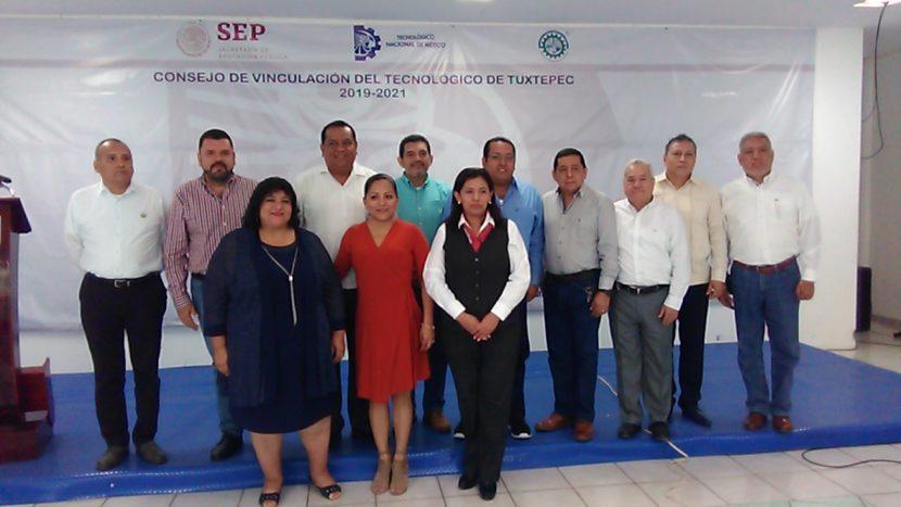 Instalan consejo de vinculación en TNM campus Tuxtepec