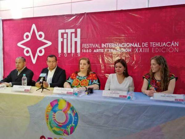 Invitan a oaxaqueños al festival Internacional de Tehuacán 1660 Arte y Tradición