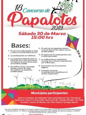 Invita Semaedeso a participar en concurso de papalotes