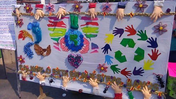 Fomentan cultura del reciclaje en escuela Tamayo de Tuxtepec