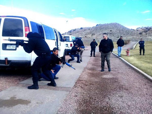 Personal de Seguridad y Custodia se capacitó en traslados de alto riesgo