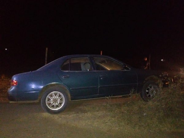 Recupera Policía Estatal vehículo con reporte de robo