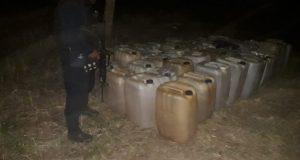 Más de 2 mil litros de hidrocarburo localizados y asegurados en el Istmo