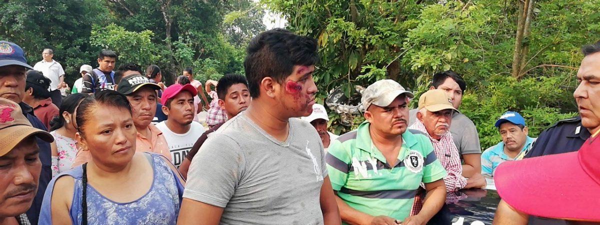 En estado crítico joven lesionado del accidente en Valle tras haber sido embestido en su motocicleta