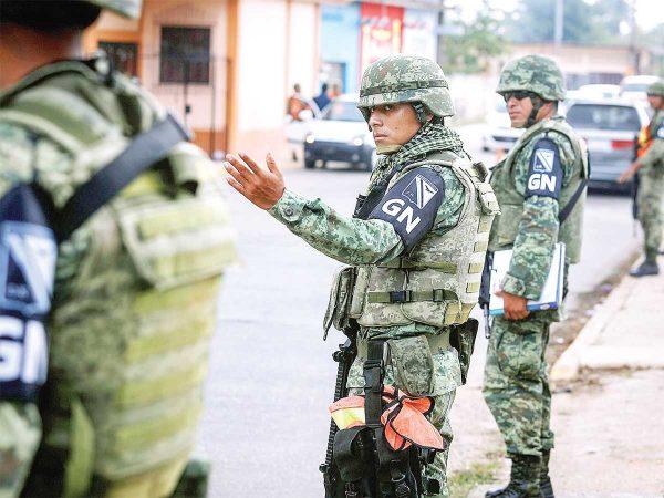 Guardia Nacional inicia operaciones; vigilan municipios de Veracruz y Oaxaca