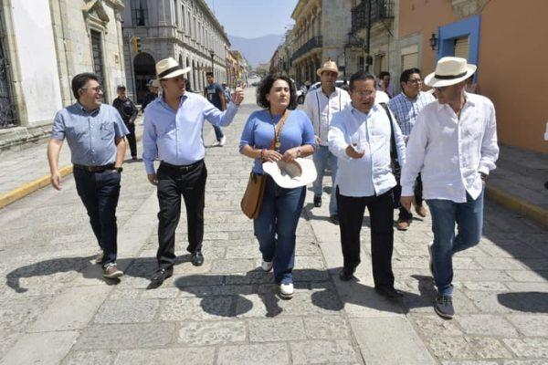 Gobierno capitalino y sector empresarial intercambian perspectivas para la conservación del Centro Histórico