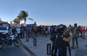 Al menos 10 detenidos tras riña en Playa Martí de Veracruz