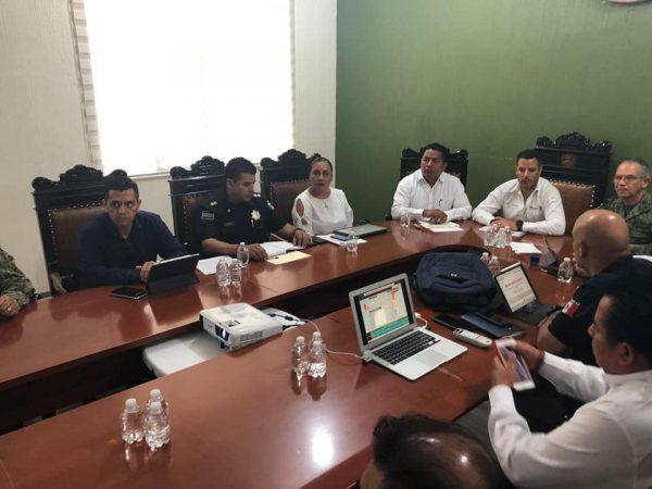 Instala Murat Mesa de Seguridad en Tuxtepec, sin detallar sobre la reunión con altos mandos
