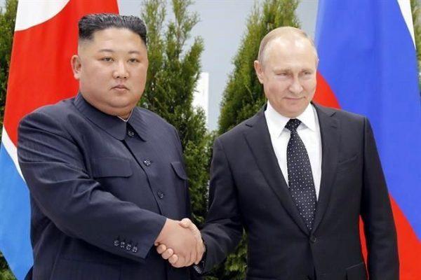 Kim y Putin se reúnen por primera vez; tratan el tema de la desnuclearización