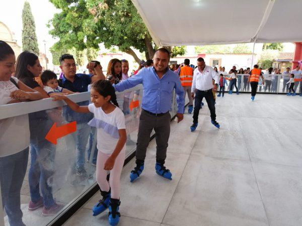 Inicia Festival de la niñez en Santa Lucía del Camino