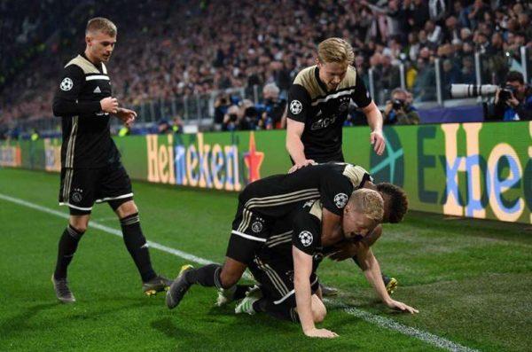 Ajax sorprende y elimina a la Juventus de la Champions