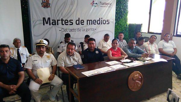 Desconoce policía municipal sobre llegada de 400 elementos de la policía estatal a Tuxtepec