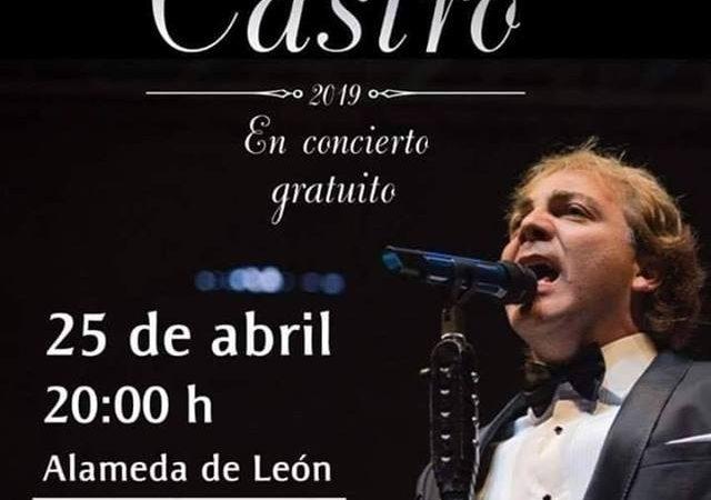 Se presentará Cristian Castro dentro de los festejos de Oaxaca de Juárez