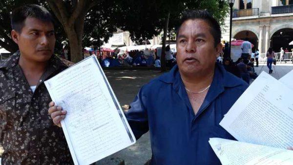 Habitantes de Santiago Jalahui exigen justicia para 3 asesinados de su comunidad, entre ellos una menor de edad
