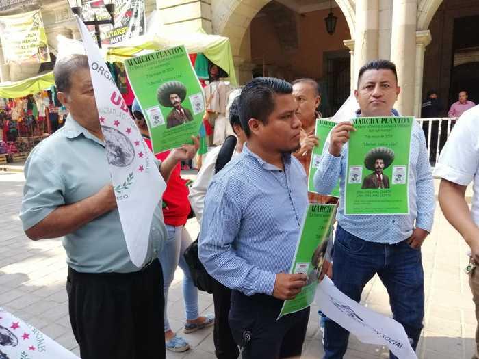 Unidad Democrática de Organizaciones Sociales, pretende paralizar Pochutla y montar plantón en Oaxaca
