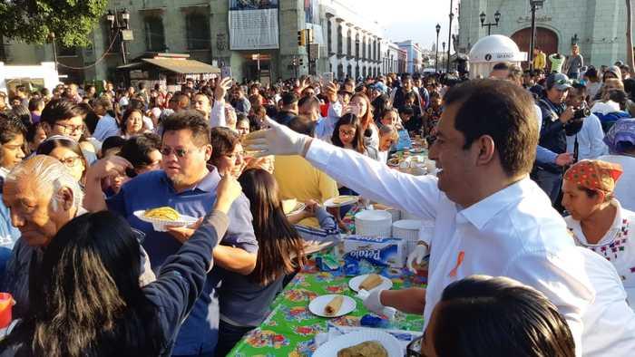 Con mañanitas a la ciudad, inició el 487 aniversario de Oaxaca