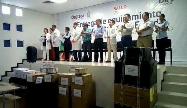 Recibe hospital de Tuxtepec, equipo que beneficiará a más de 200 mil habitantes