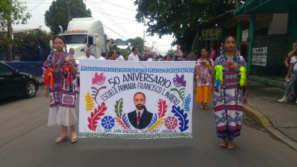 Inician festejos por 50 años de escuela Francisco I. Madero