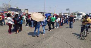 Marchan ambulantes en Oaxaca, piden ser tomados en cuenta