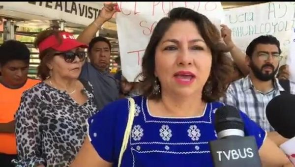 Solución no confrontación, exige presidenta de San Jacinto Amilpas a SEGEGO