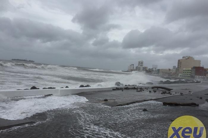 Emiten aviso especial por surada y Frente Frío que ocasionará evento de Norte en Veracruz