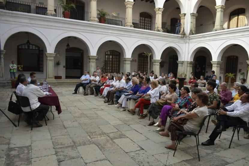 A través de las letras, homenajea Gobierno capitalino a la Verde Antequera en su aniversario