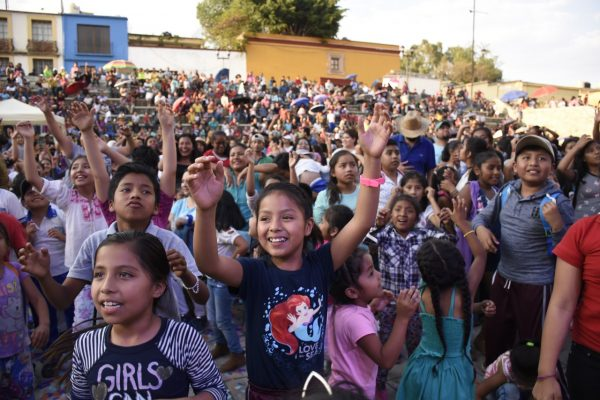DIF Municipal de Oaxaca de Juárez celebra magno Festival del Niño 2019