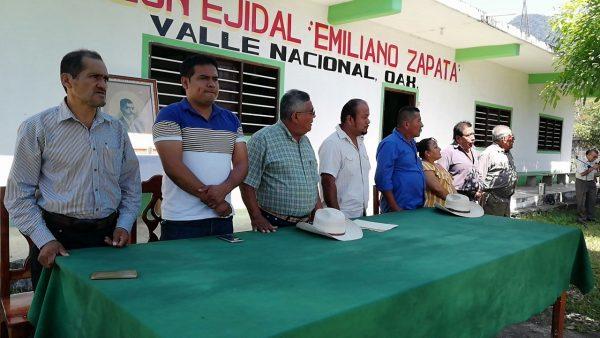 Recuperando las tierras para darle uso es como se recuerda a Zapata: Comisariado de Valle Nacional
