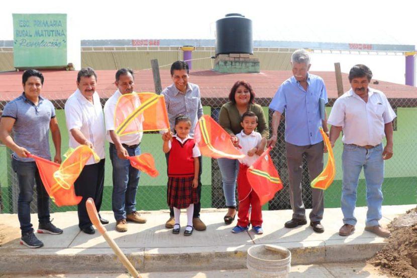 Fortalece ALJ infraestructura educativa en Xoxocotlán